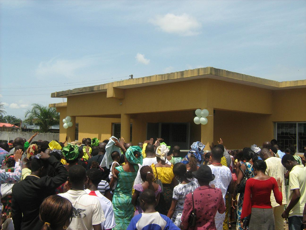 Anointing Medical Centre opening ceremony